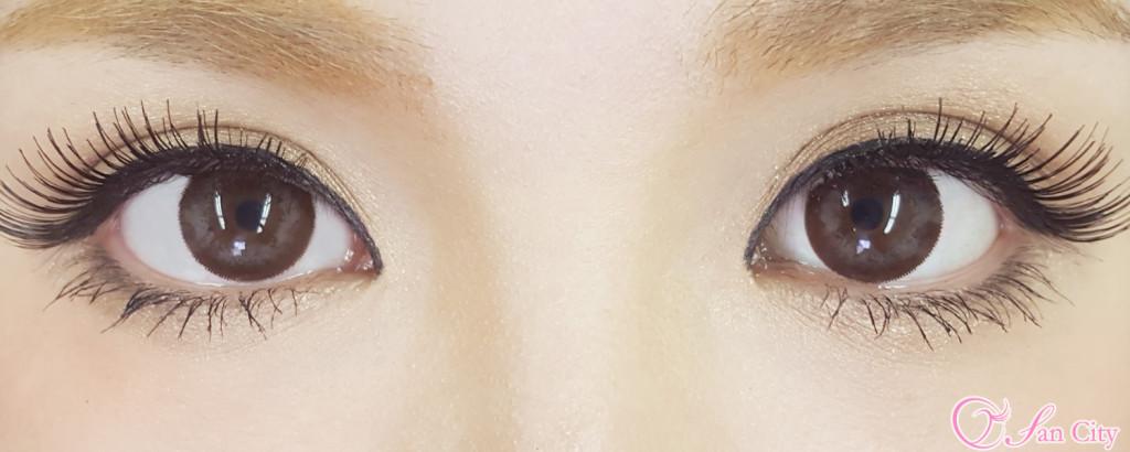 浜崎あゆみカラコンのキャレムドールエレガンス装着画像