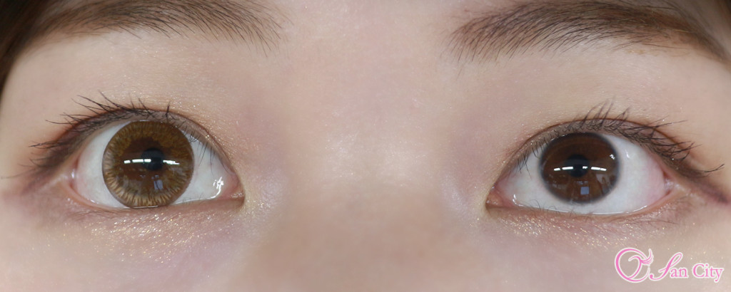 片目裸眼の両目!