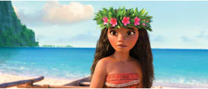 MOANA - (Pictured) Moana. ツゥ2016 Disney. All Rights Reserved.