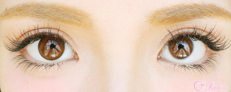 アンヴィシャモーブラウンレポ裸眼との比較