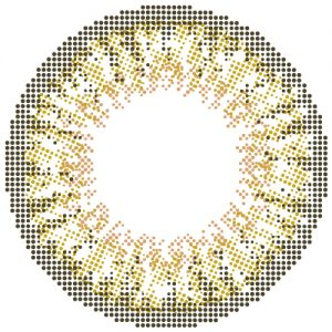 モテコンミルクティアッシュ公式レンズ画像カラコン