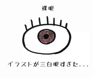 三白眼の絵