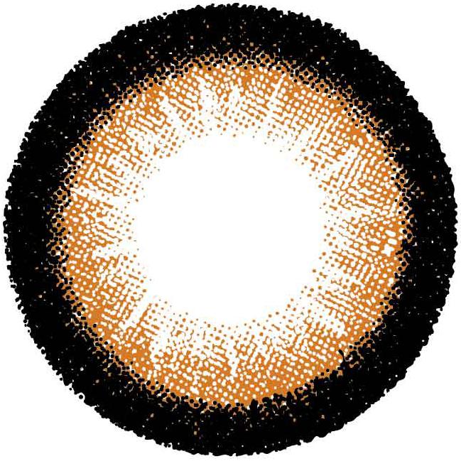 さくりなカラコンディアクイーンUVモイストブラウンレンズの画像