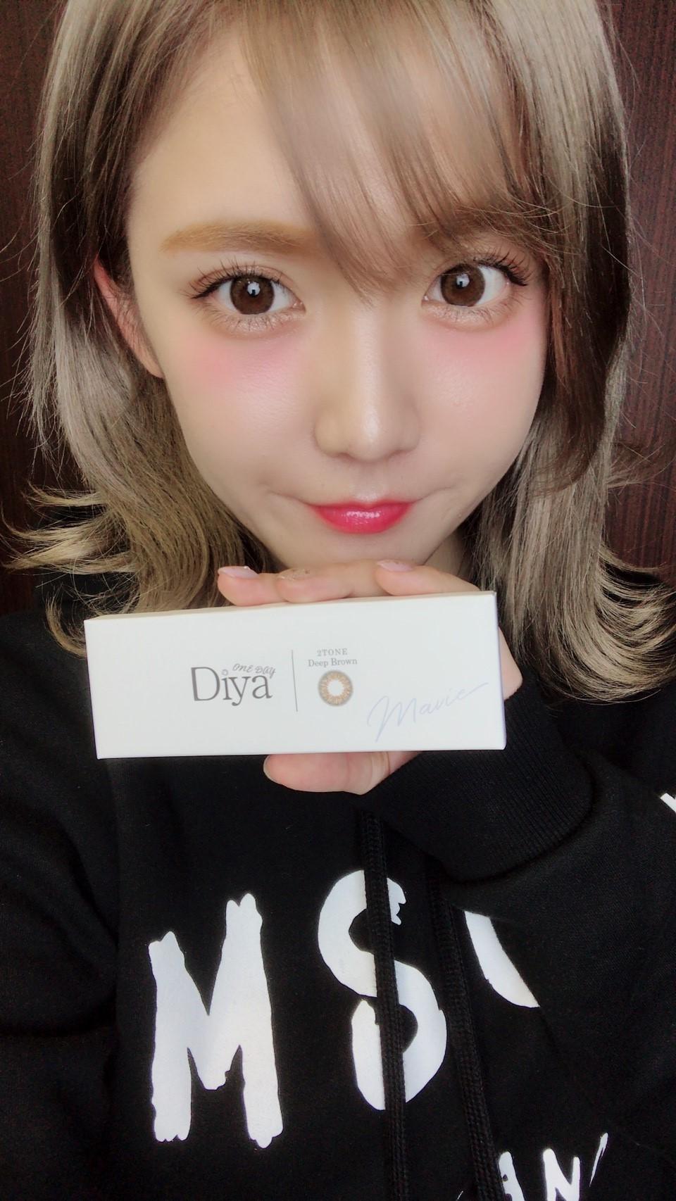 今田美桜ダイヤワンデーマビィディープブラウン装着全体